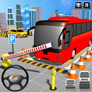 American Modern Bus Parking: Bus Game Simulator 2020