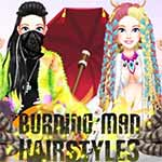 Burning Man Hairstyles