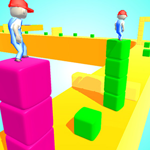 Cube Tower Surfer
