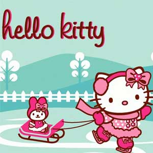 Hello Kitty Christmas Jigsaw