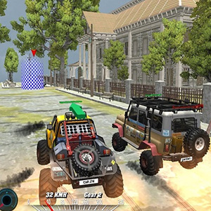 Offroad Monster Truck Forest Championship