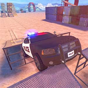 Police Drift and Stunt