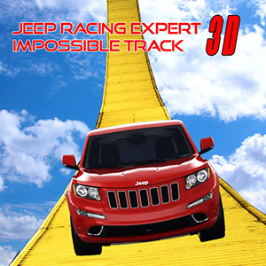 Stunt Jeep Simulator:Impossible Track Racing Game