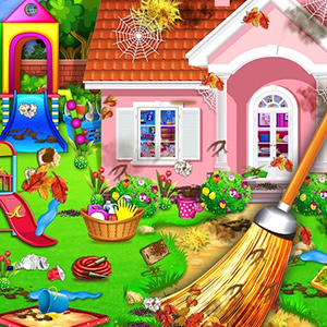 Sweet Home Cleaning: Princess House Cleanup Game