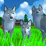 Wolf Simulator - Wild Animals 3D